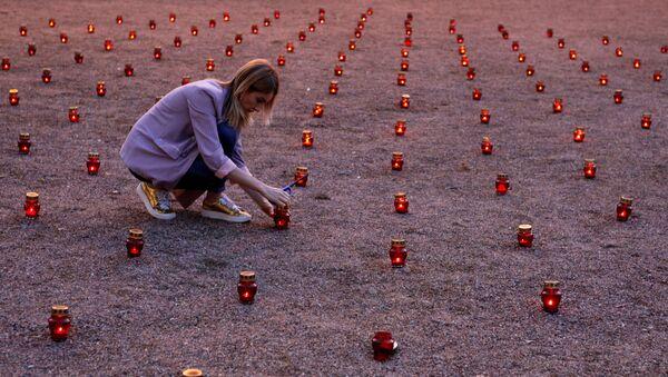 Homenaje a las víctimas de la tragedia de Beslán - Sputnik Mundo