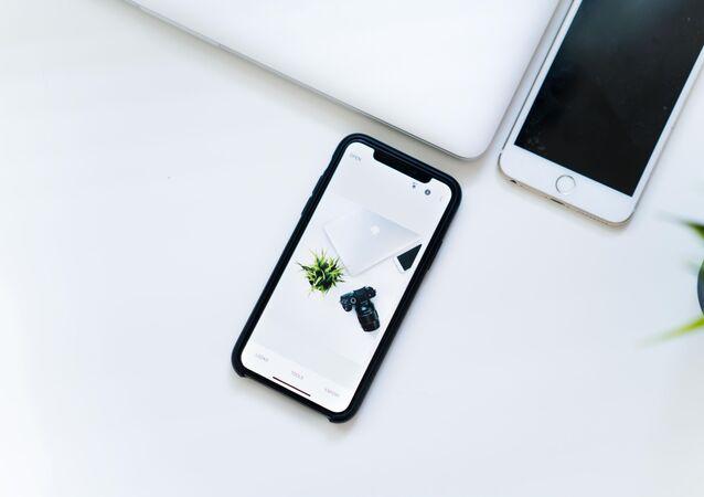 Un iphone X (imagen referencial)