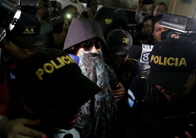 Detenida la excandidata presidencial de Guatemala, Sandra Torres
