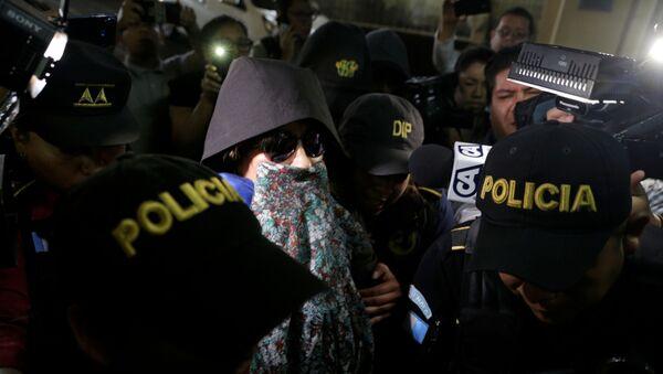 Detenida la excandidata presidencial de Guatemala, Sandra Torres - Sputnik Mundo