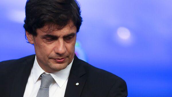 El ministro de Hacienda argentino, Hernán Lacunza - Sputnik Mundo