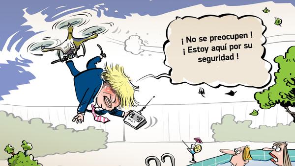 Boris Johnson se preocupa por la seguridad del golfo Pérsico… a su manera - Sputnik Mundo