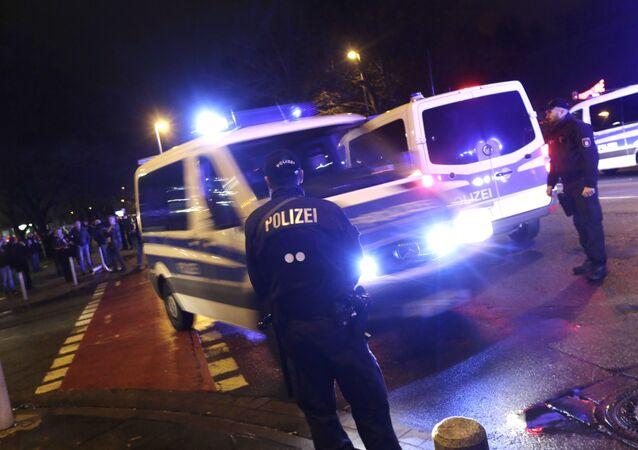 Policía en Hannover (Archivo)