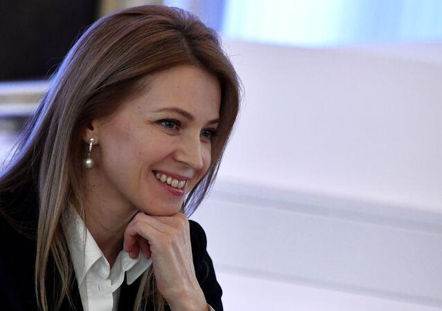 Natalia Poklónskaya, diputada de la Duma Estatal de Rusia