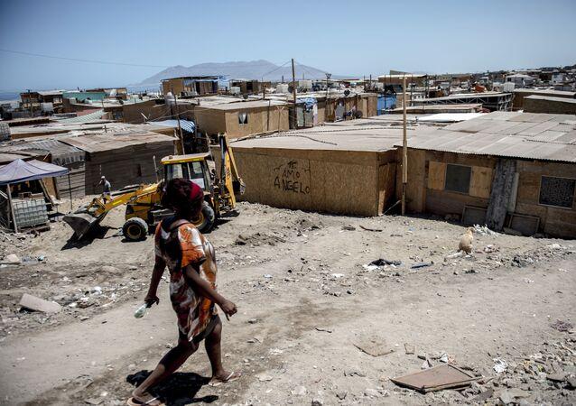 Asentamientos precarios en Chile (Archivo)