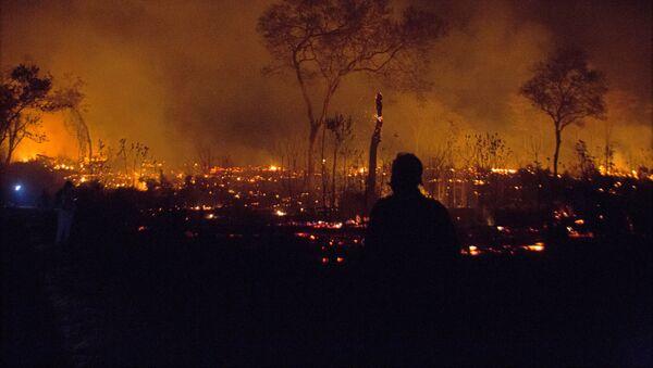Incendios en Bolivia - Sputnik Mundo