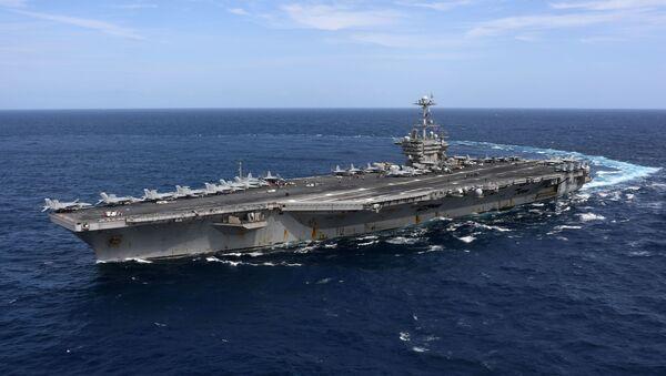 El portaviones USS Harry S. Truman (CVN-75) de la Armada de Estados Unidos - Sputnik Mundo