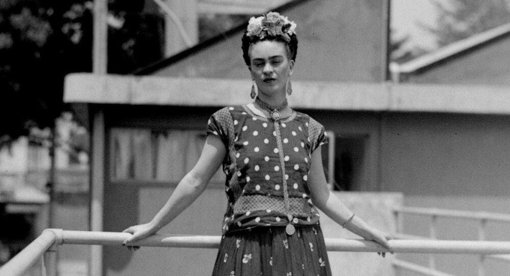 Frida Kahlo, pintora mexicana