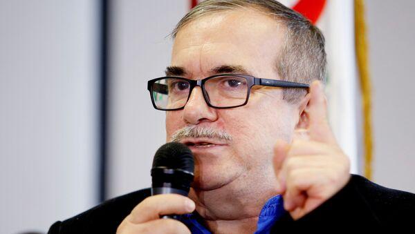 Rodrigo Londoño, jefe del partido FARC  - Sputnik Mundo