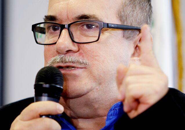 Rodrigo Londoño, jefe del partido FARC