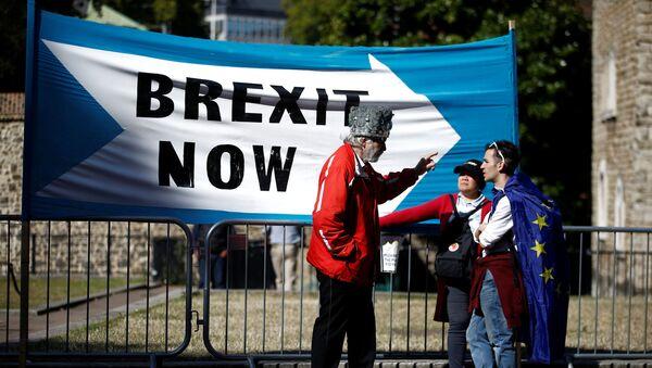 Los partidarios de Brexit - Sputnik Mundo