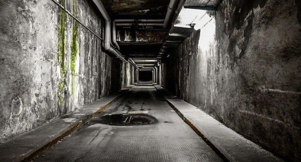 Un túnel subterráneo (imagen referencial)