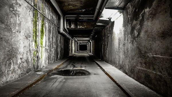 Un túnel subterráneo (imagen referencial) - Sputnik Mundo