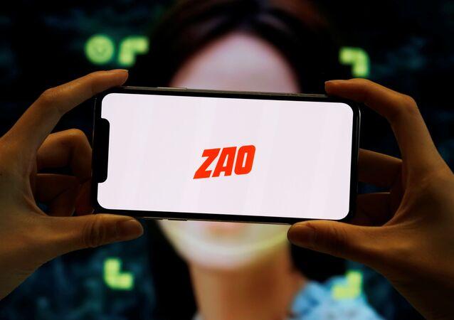 Logo de la aplicación china Zao