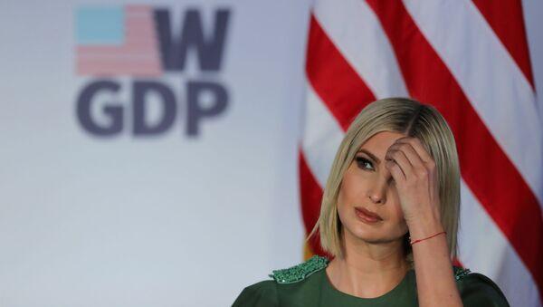 Ivanka Trump, hija del mandatario Donald Trump en Bogotá - Sputnik Mundo