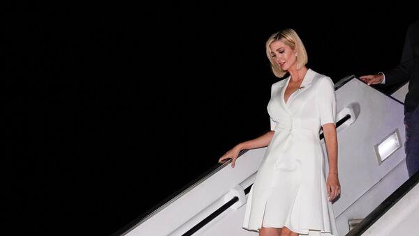 Ivanka Trump llega a Colombia - Sputnik Mundo