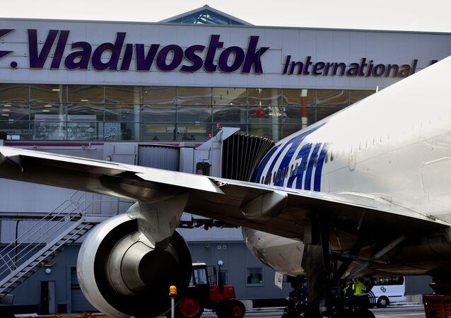 El aeropuerto de Vladivostok