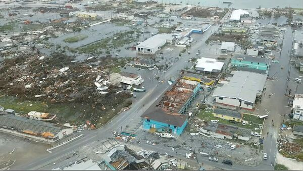 Consecuencias del paso del huracán Dorian en las Islas Abaco, Bahamas  - Sputnik Mundo