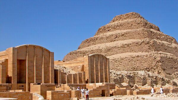 La pirámide de Djoser (imagen referencial) - Sputnik Mundo