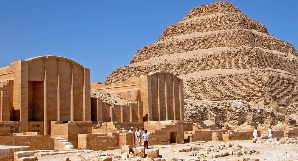 La pirámide de Djoser (imagen referencial)