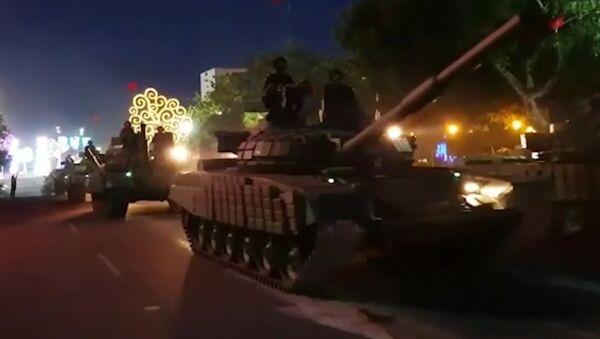 Tanques rusos salen a las calles en Nicaragua - Sputnik Mundo