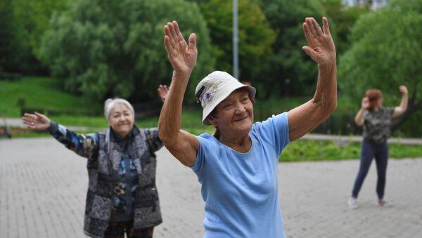 Ancianas rusas (imagen referencial) - Sputnik Mundo