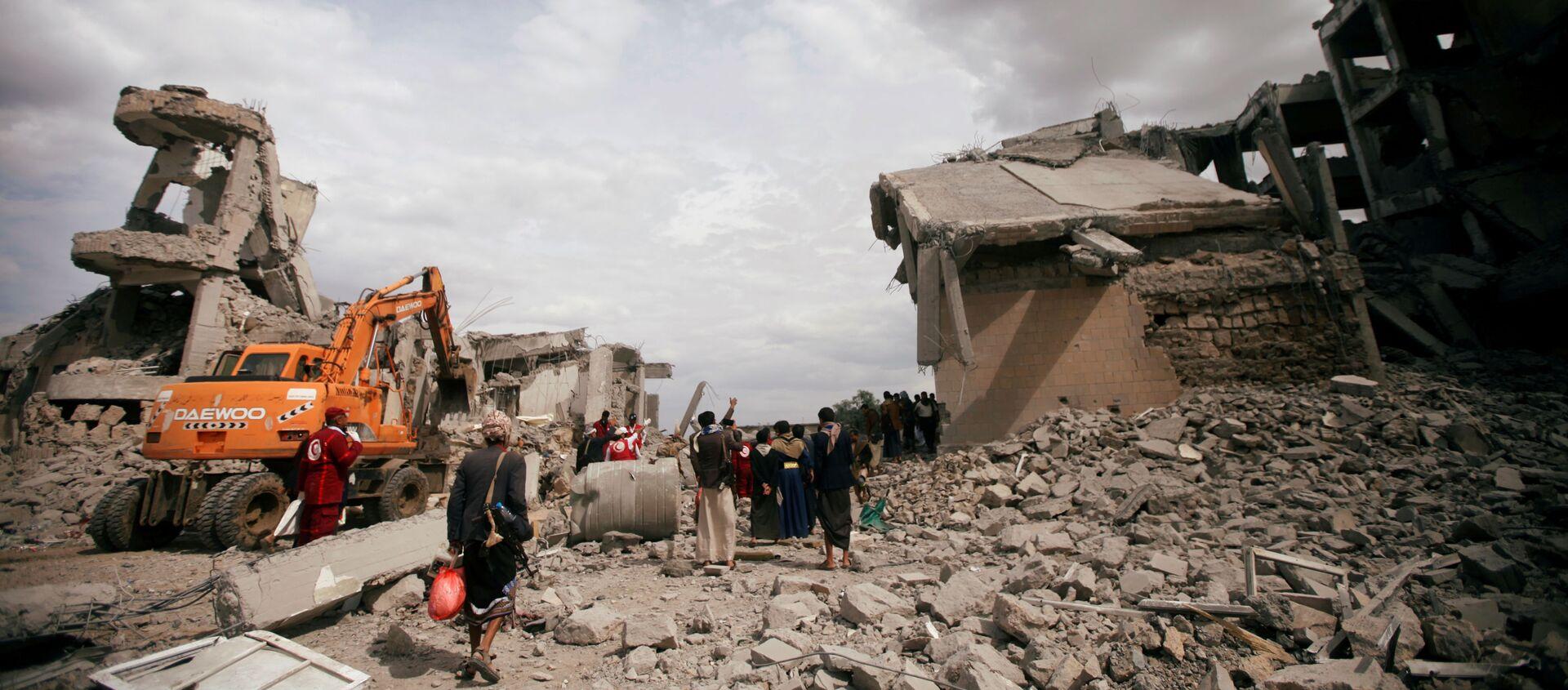 Situación en Yemen - Sputnik Mundo, 1920, 04.09.2019