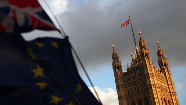 El Palacio del Parlamento en Londres - Sputnik Mundo