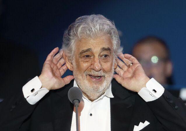 Plácido Domingo, el cantante español