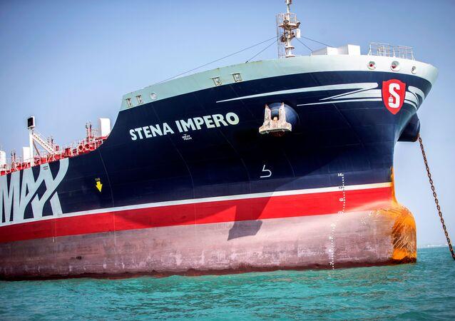 El buque cisterna Stena Impero