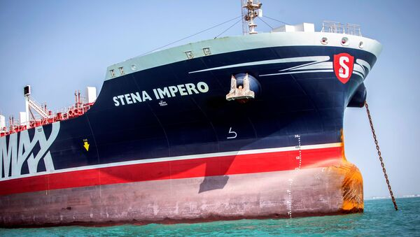 El buque cisterna Stena Impero - Sputnik Mundo