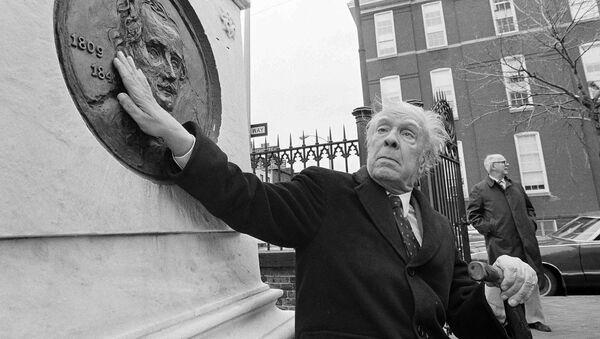 Jorge Luis Borges, el escritor argentino - Sputnik Mundo