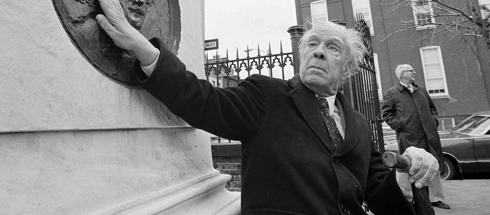 Jorge Luis Borges, el escritor argentino - Sputnik Mundo, 1920, 05.09.2019