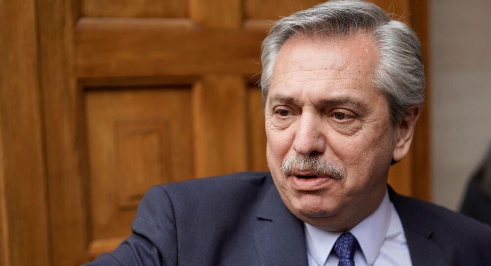 Alberto Fernández, el líder de la oposición en Argentina