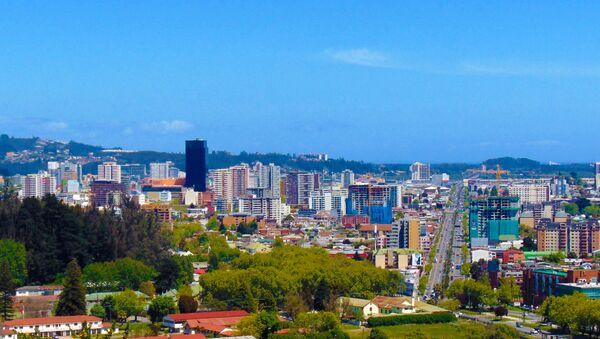 Vista de la ciudad de Concepción (Chile) - Sputnik Mundo