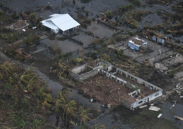 Consecuencias del huracán Dorian