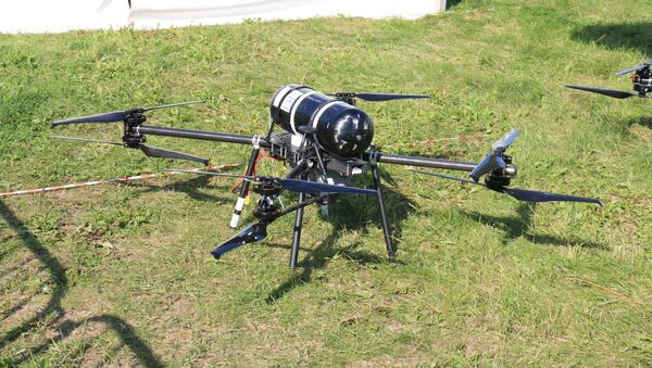 Un dron que propulsado por hidrógeno - Sputnik Mundo