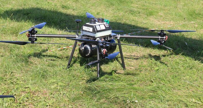 Los drones a hidrógeno rusos usan tanques de fibra de carbono para ahorrarse el peso