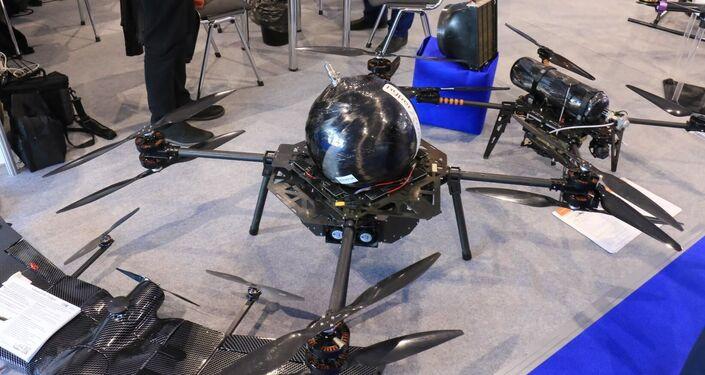 El dron más grande tiene un tanque esférico, lo cual mejora sus prestaciones