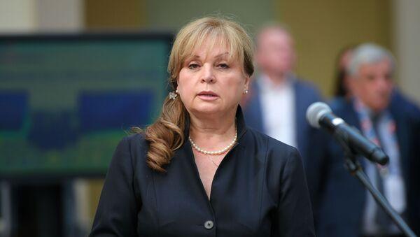 Ela Pamfílova, presidenta de la Comisión Electoral Central de Rusia - Sputnik Mundo