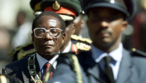 Robert Mugabe, expresidente de Zimbabue - Sputnik Mundo