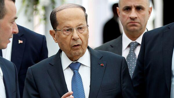 Michel Aoun, el presidente del Líbano - Sputnik Mundo