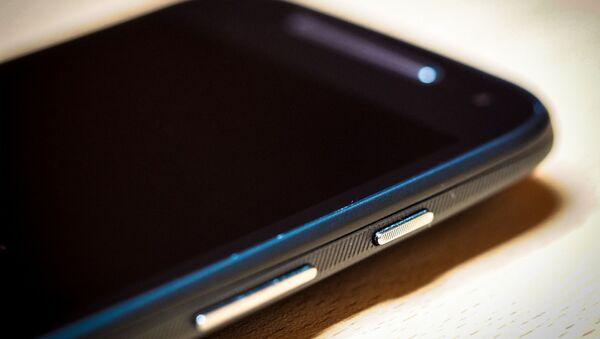 Un 'smartphone' de Motorola - Sputnik Mundo