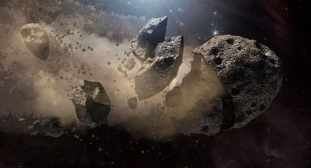 Restos polvorientos de asteroides destrozados alrededor de varias estrellas muertas