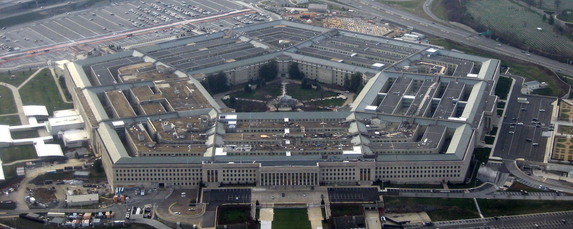 Pentágono, el Departamento de Defensa de EEUU - Sputnik Mundo, 1920, 06.02.2021