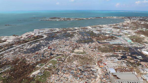 Consecuencias de huracán Dorian - Sputnik Mundo
