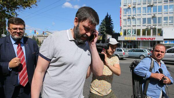 Kiril Vishinski, jefe del portal RIA Novosti Ukraina - Sputnik Mundo
