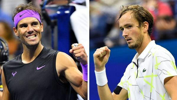 Rafael Nadal y Daniil Medvédev - Sputnik Mundo