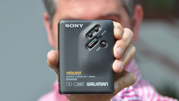 Sony Walkman, imagen de archivo - Sputnik Mundo