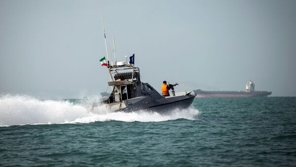 La Guardia Costera de Irán - Sputnik Mundo